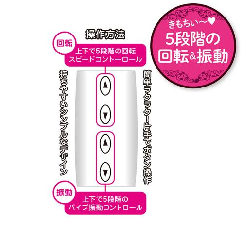 附圖4-日本NPG* 5段階迴轉振動按摩棒