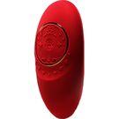 圖片-法國輕奢私密用品*Jeanne調情按摩器/金屬表面24k金-緋紅
