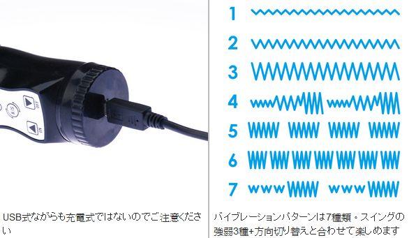 附圖6-【日本KMP】鬼- 七段變頻多功能按摩棒