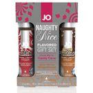 商品圖-美國JO*JO H2O - CANDY CANE & GINGERBREAD - GIFT SET (WATER-BASED) 1 floz / 30 mL尼斯潤滑油禮品套裝