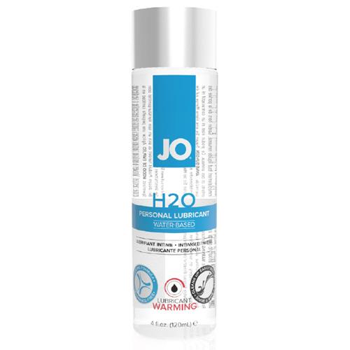 美國JO*H2O Water Based水溶性潤滑液-熱感型(4 floz / 120 mL)