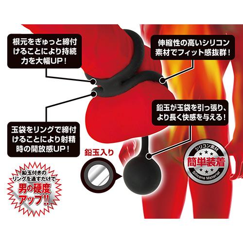 附圖2-日本A-one*簡單著裝猛男屌環