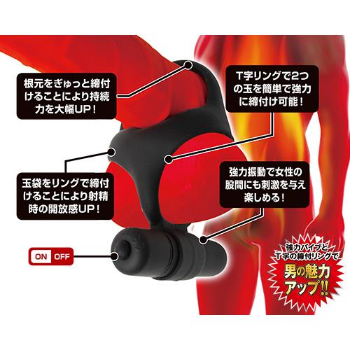 附圖2-日本A-one*簡單著裝猛男震動屌環