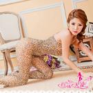 圖片-薄透系列-熱戀.豹紋連身貓裝