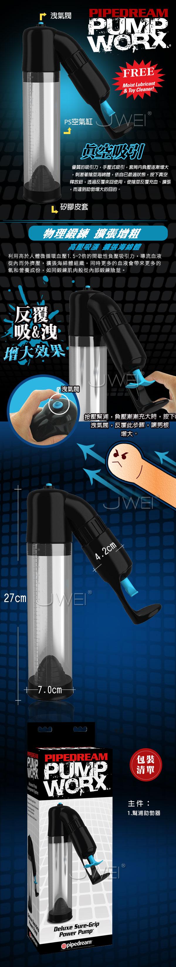 附圖2-美國原裝進口PIPEDREAM.PUMP WORX系列-真空助勃器-Deluxe Sure-Grip Pump