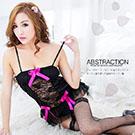圖片-(任選2件990元)華麗薔薇•精緻性感誘惑馬甲(黑)