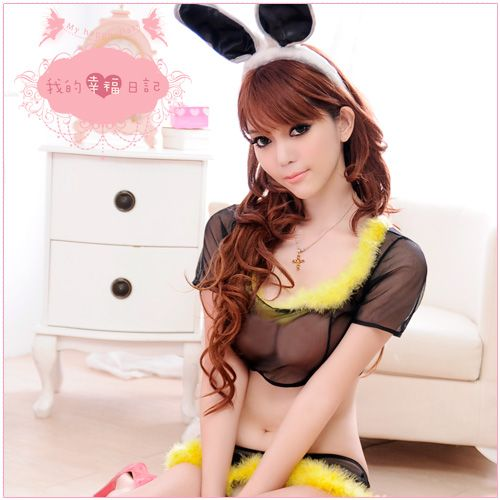 附圖1-迷情聖誕夜•兔女郎扮演角色服(黑)