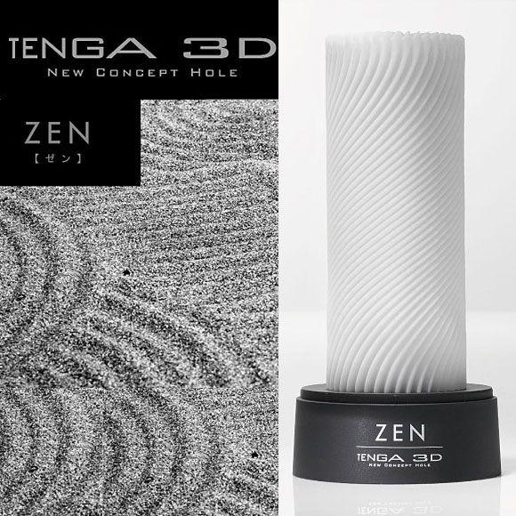 日本TENGA.3D New Concept Hole 立體紋路非貫通自慰套TNH-003 Zen (禪)