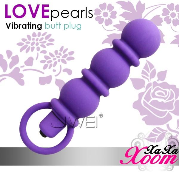 附圖1-台南-成杰-小小菊花園--XaXaXoom.Love pearls 5段變頻三珠拉環後庭棒(內有開箱文)