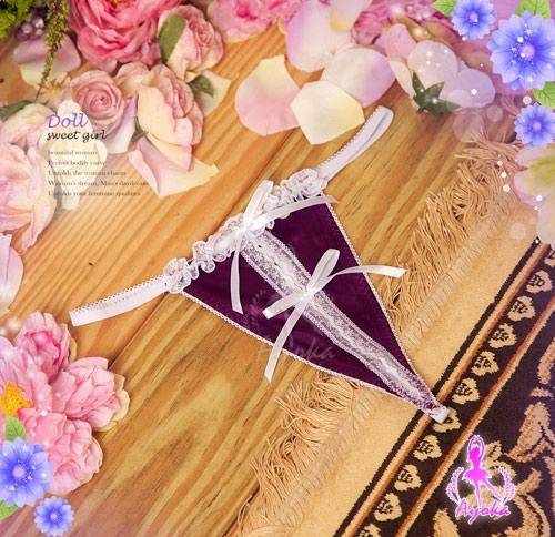 附圖5-【Ayoka】夢想啟動!開襟二件式睡襯衣#紫