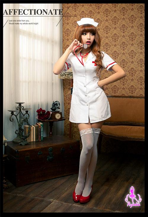 附圖1-【Ayoka】愛的照護!三件式護士角色扮演服