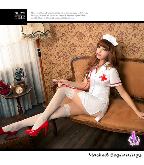 附圖4-【Ayoka】愛的照護!三件式護士角色扮演服
