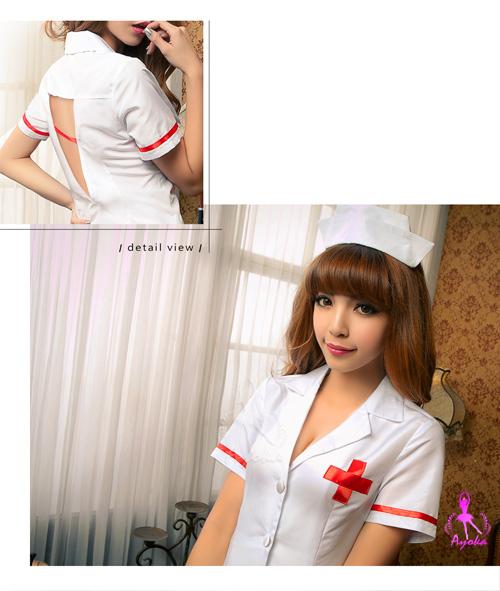 附圖6-【Ayoka】愛的照護!三件式護士角色扮演服