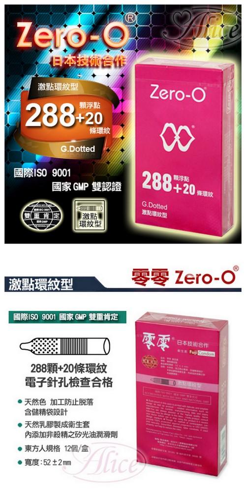 附圖2-Zero-O衛生套 - 激點環紋型 12入