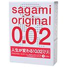 圖-相模Sagami002超激薄衛生套3入