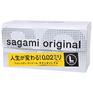 圖-相模Sagami002(加大)超激薄衛生套12入