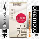 圖-岡本okamoto City - Super Thin透薄型保險套/衛生套10入裝