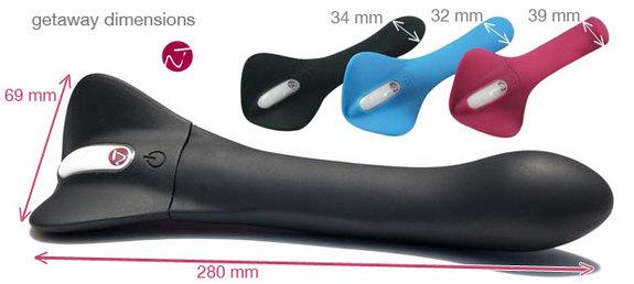 附圖3-德國Nomi Tang-第二代愛情變奏曲luxe觸摸式變頻按摩棒-紫紅