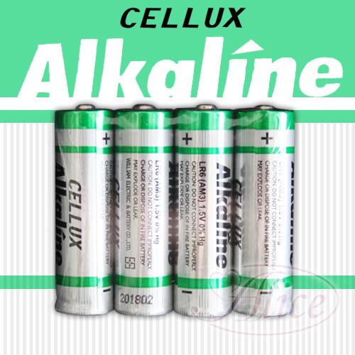 【CELLUX】3號環保鹼性電池(4顆入)