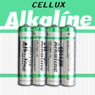 圖-【CELLUX】4號環保鹼性電池(4顆入)