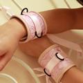 美國駭客 Toughage Chinese silk Wrist Cuffs 中國綢 手腕束帶/粉紅 (A231)