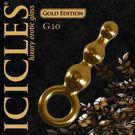 圖片-美國進口PIPEDREAM.ICICLES冰晶玻璃奢華金系列-三珠按摩棒-G10
