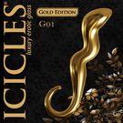 圖片-美國進口PIPEDREAM.ICICLES冰晶玻璃奢華金系列-G點彎曲按摩棒-G01
