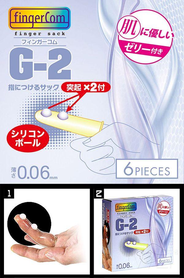 附圖2-日本原裝進口NPG.雙珠G點指套G2