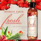 圖片-美國Intimate-Earth.Fresh Strawberries 果味口愛潤滑液-草莓 (120ml)