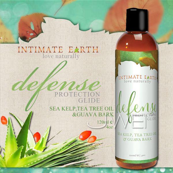美國Intimate-Earth.defense 護理潤滑液-海藻&茶樹精油 (120ml)
