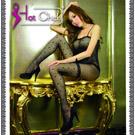 圖片-(任選2件990元)Hot Chick -法國香頌.性感圓點貓裝網衣